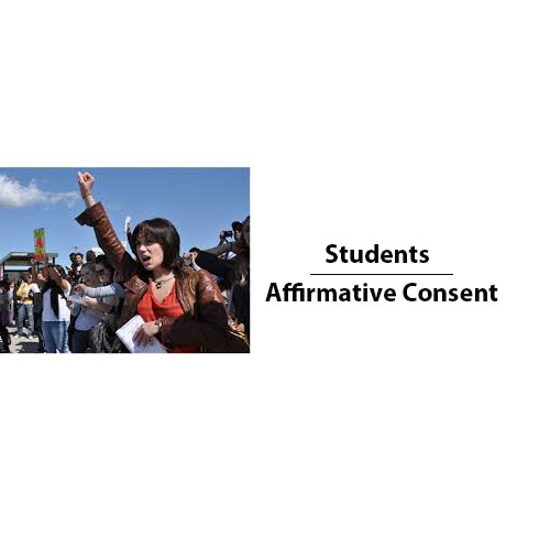 Students and Afirmative Consent - Yes means Yes